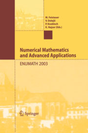 Cover Conference Proceedings Enumath 2003